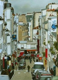 PARIS 100 x70 cm