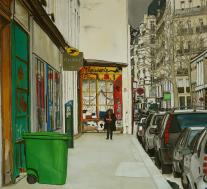 PARIS Fbg Saint Antoine 70x70 cm