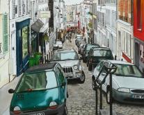 PARIS rue Tholoze 70x87 cm
