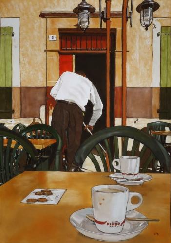 CAFÉ 100x70 cm
