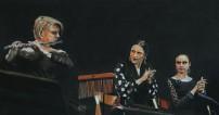 Fabienne Miqueu,Lea Linares,Anais Bayle 56x100 cm