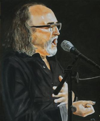 Mariano Zamora 70x57 cm