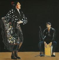 Lea Linares,Pablo Reyes 72x70 cm