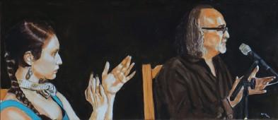 Anais,Mariano 30x70 cm