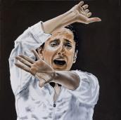 Mercedes Ruiz 70x70 cm