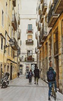 Barcelona 100 x 70 cm