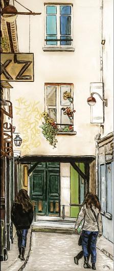 """Paris """"Faubourg Saint Antoine"""""""