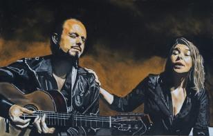 Rocio Marquez et Juan Antonio Suarez (Canito)